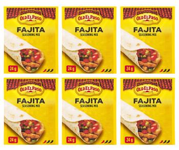 Old El Paso Fajita Seasoning Mix, 24g/0.8oz., 6-Pack {Imported from Canada}