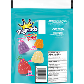 Maynards Swedish Berries Tropical Candy, 350g/12.3 oz., Bag {Imported from Canada}