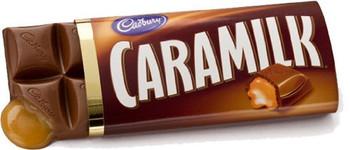 Cadbury Caramilk Milk Chocolate Bars  24 x 52g.  {Imported from Canada}