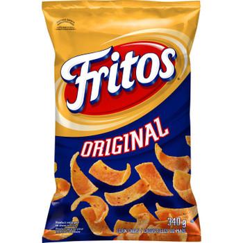 Fritos Original Corn Chips, 340g/12 oz., Bag, {Imported from Canada}
