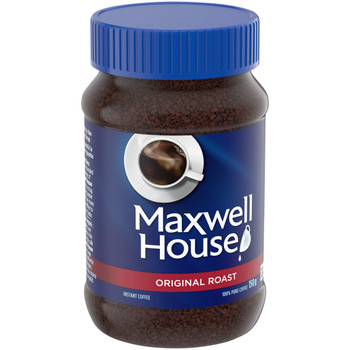 Maxwell House Original Roast Instant Coffee, 150g/5.3 oz., (Pack of 12) {Imported from Canada}