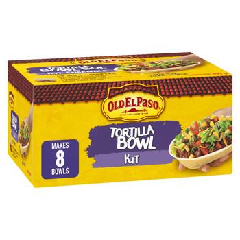 Old El Paso Tortilla Bowl Kit, 8 count per box, 309g/10.9 oz., Box {Imported from Canada}