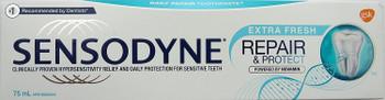Sensodyne with Novamin , Extra Fresh, Repair & Protect, 75mL/2.5oz (Canadian)