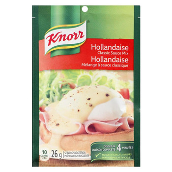 Knorr Classic Sauce Mix, Hollandaise, 26g/.9 oz., (12 Pack) {Imported from Canada}
