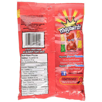 Maynards Original Gummies 170g/6oz., (Pack of 6) {Imported from Canada}