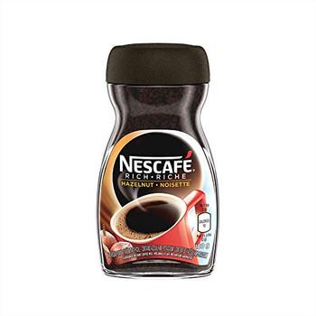 Nescafe Instant Coffee Hazelnut, 100g/3.5oz, 6-Pack, {Imported from Canada}