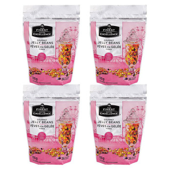 Our Finest Gourmet Jelly Beans, 300g/10.6 oz., (4 Pack) {Imported from Canada}