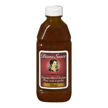 DIANA Sauce, Rib and Chicken, 500ml/16.9 oz. (Pack of 10) {Imported from Canada}