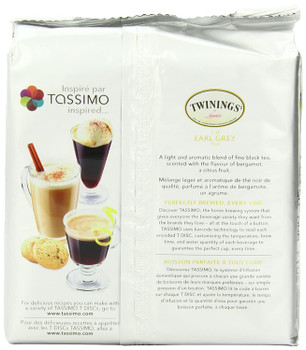 Tassimo Twinings Earl Grey Tea, 48 T-Discs (3 Boxes of 16 T-Discs) {Imported from Canada}