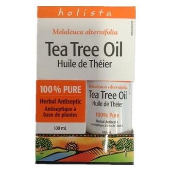 Holista Tea Tree Oil 100ml/3.4 oz., {Imported from Canada}