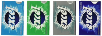 Excel Variety Pack 288-Pieces of Gum {Imported from Canada}