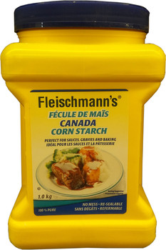 Fleischmann's Canada Corn Starch, 1kg/2.2 lbs., - {Imported from Canada}