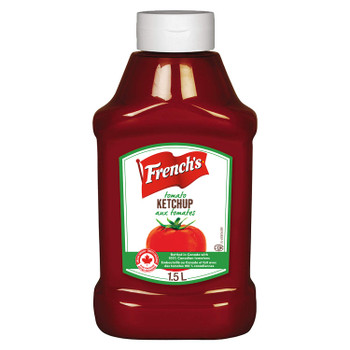 French's, Tomato Ketchup, 1.5L/50.7oz, (Imported from Canada)