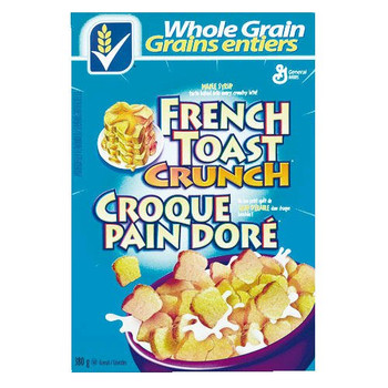 French Toast Crunch Cereal, 4pk, 380g/13.4 oz., per box {Imported from Canada}