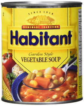 Habitant Garden Style Vegetable Soup - 796ml {Imported from Canada}