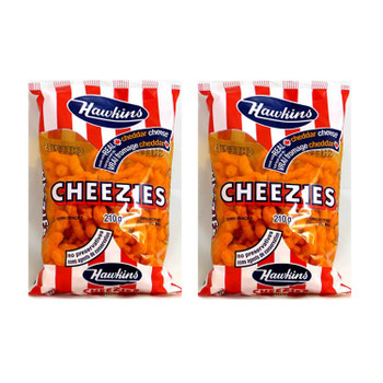 Hawkins Cheezies - 210g/7.4 oz., (2 pack) {Imported from Canada}