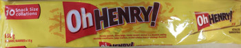 Hershey Oh Henry Snack Size Bars - 10ct/150g {Imported from Canada}