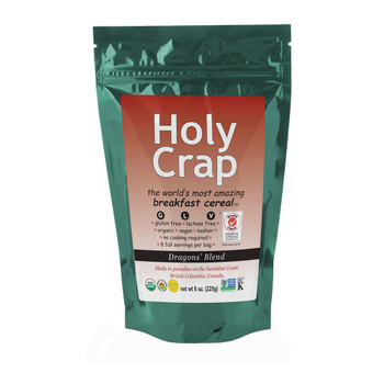 Holy Crap Breakfast Cereal, 8 Ounce (2pk) {Imported from Canada}