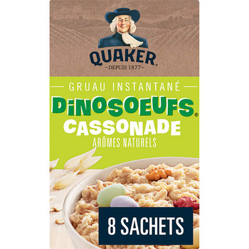 Instant Quaker Oats Dino Eggs Oatmeal, 304g/10.7oz. {Imported from Canada}