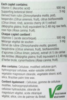 Jamieson Vitamin C 120 caplets Bonus Size {Imported from Canada}