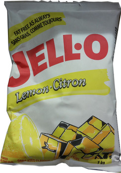 Jell-o Lemon Pudding and Pie Filling, 1kg/2.2lbs. {Imported from Canada}