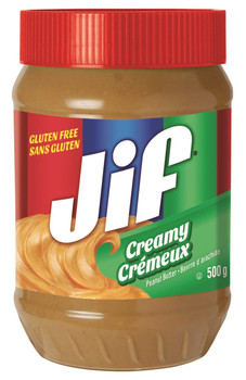 Jif Creamy Peanut Butter 500g/17.6oz. (Imported from Canada)