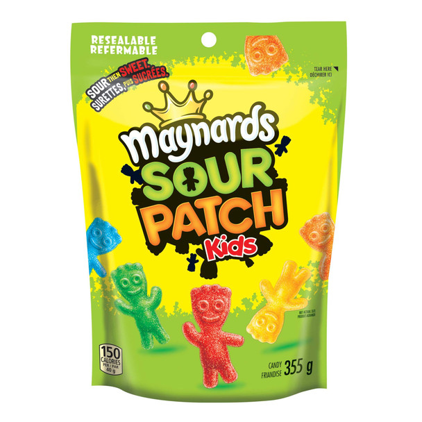Maynards Sour Patch Kids 355g/12.5oz., (2 Pack) (Imported from Canada)