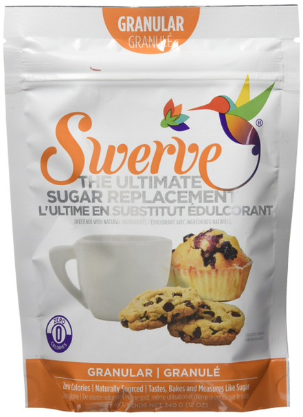 Swerve The Ultimate Sugar Replacement - Granular, 340g/12 oz {Imported from Canada}