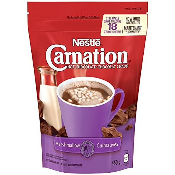 Nestle Carnation Hot Chocolate Marshmallow Mix, 450g/15.9oz, (Imported from Canada)
