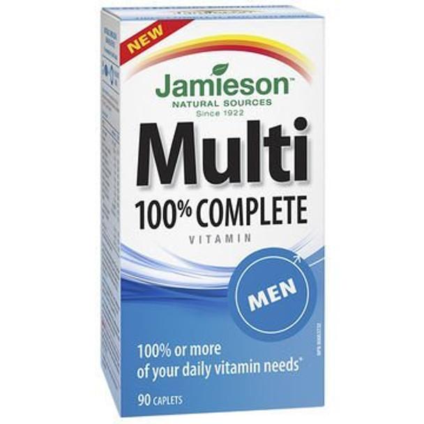 Jamieson Multi 100% Complete Vitamin - Men - 90's, {Imported from Canada}