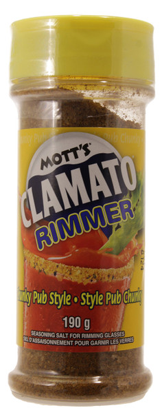 Mott's Chunky Pub Style Clamato Rimmer, 190g/6.7oz., {Imported from Canada}