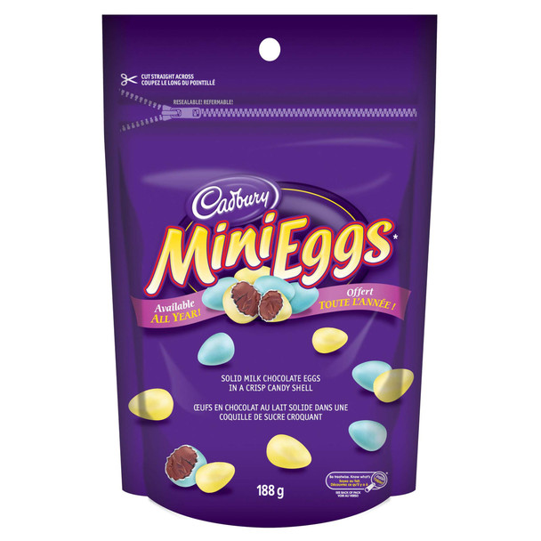 Cadbury Mini Easter Eggs (188g / 6.6 oz., per pack) {Imported from Canada}