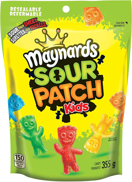 Maynards Sour Patch Kids Gummy Candy, 355g/12.5 oz., {Imported from Canada}