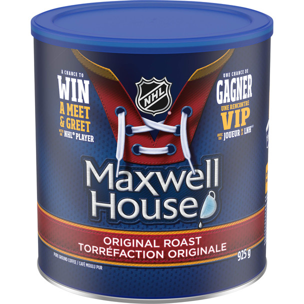 Maxwell House Original Roast Ground Coffee, 925g/32.6 oz., (Pack of 6) {Imported from Canada}