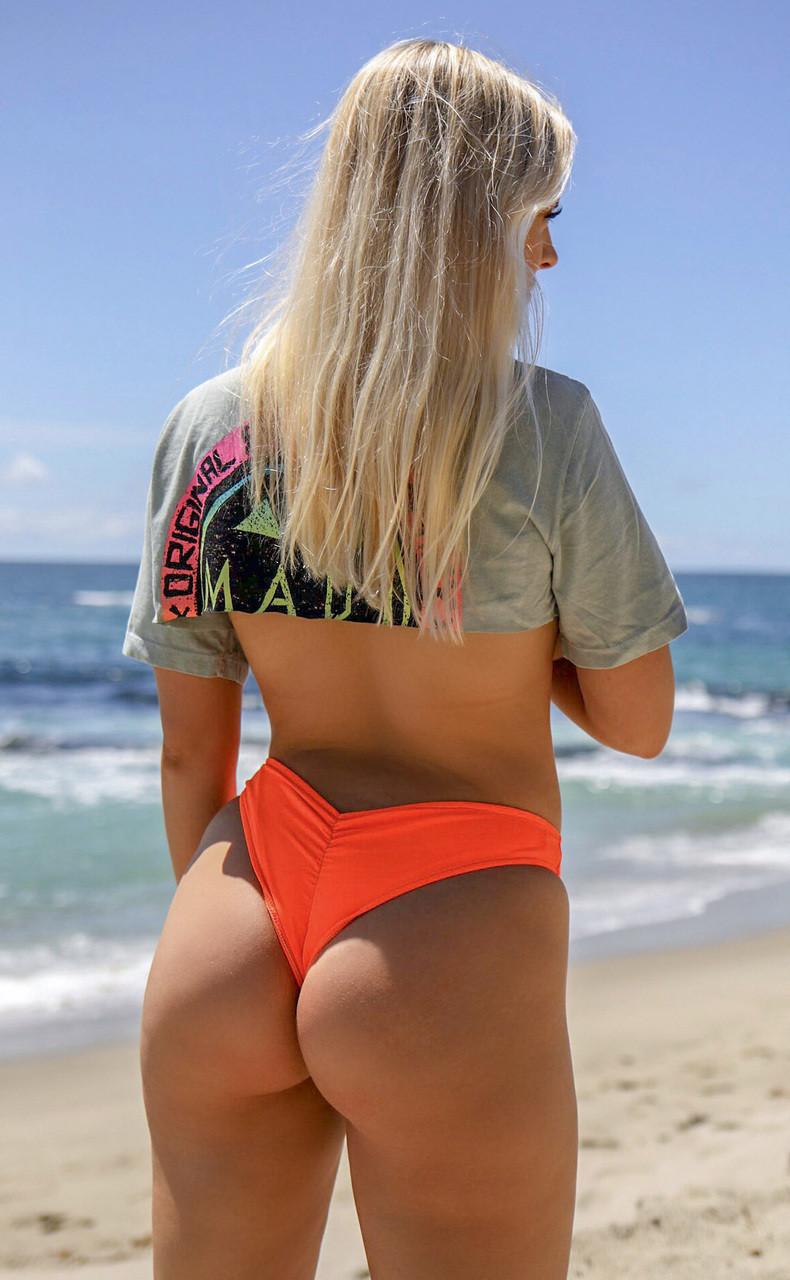 Scrunch Butt Bikini Bottoms