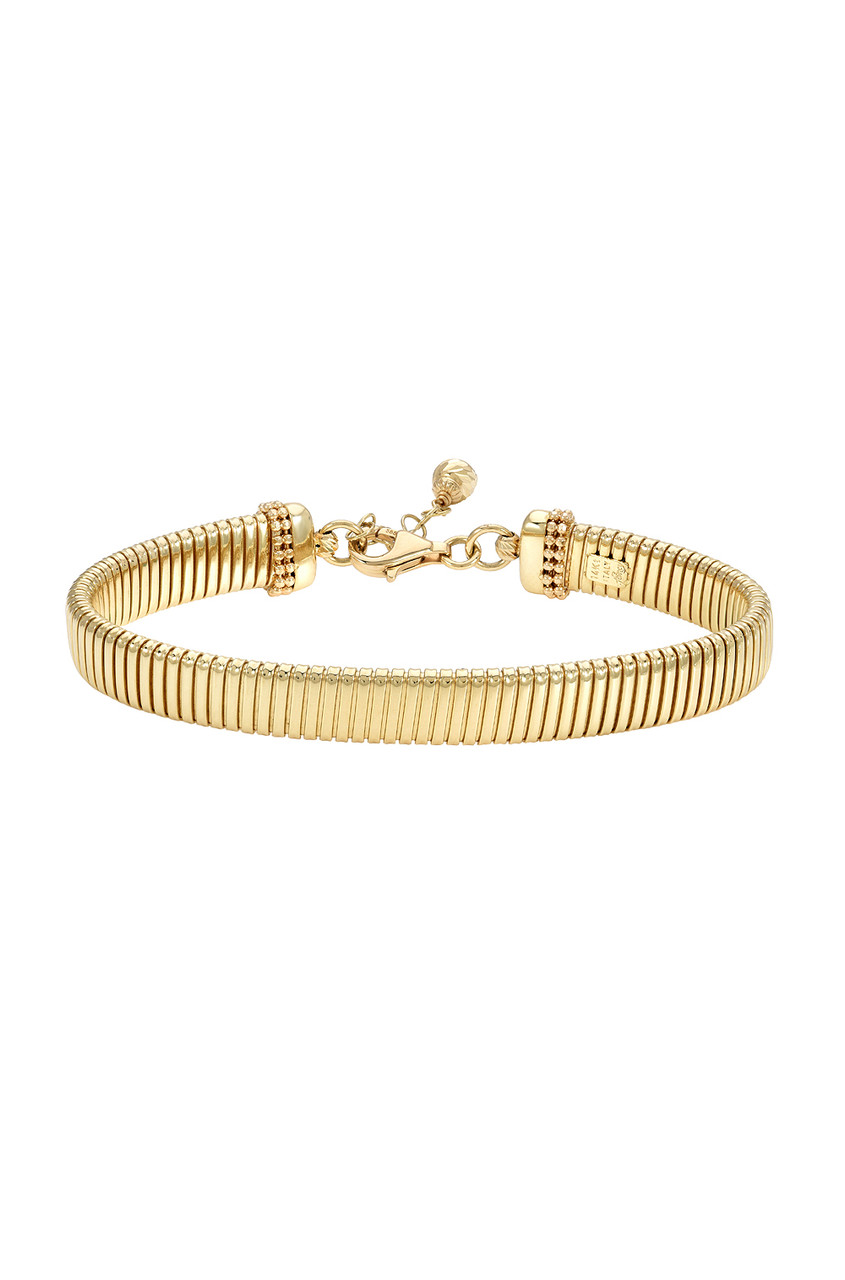 14k. Gold Large Coil Chain Bracelet
