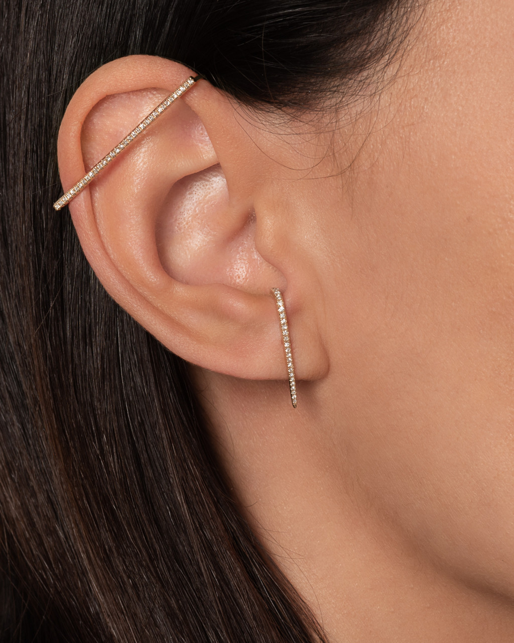 Diamond Cartilage Ear Cuff - Out of Stock