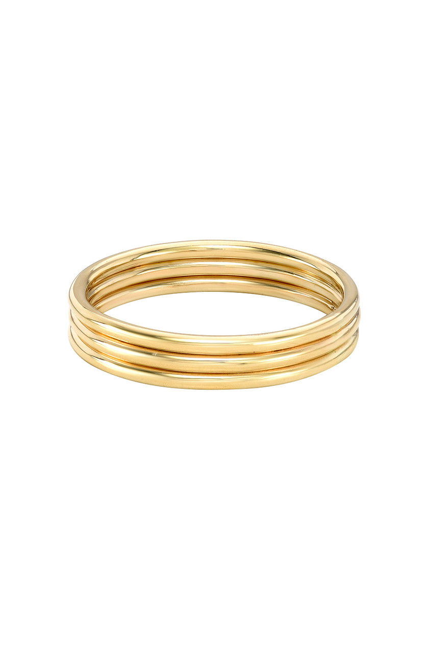 14k Gold Trio Band