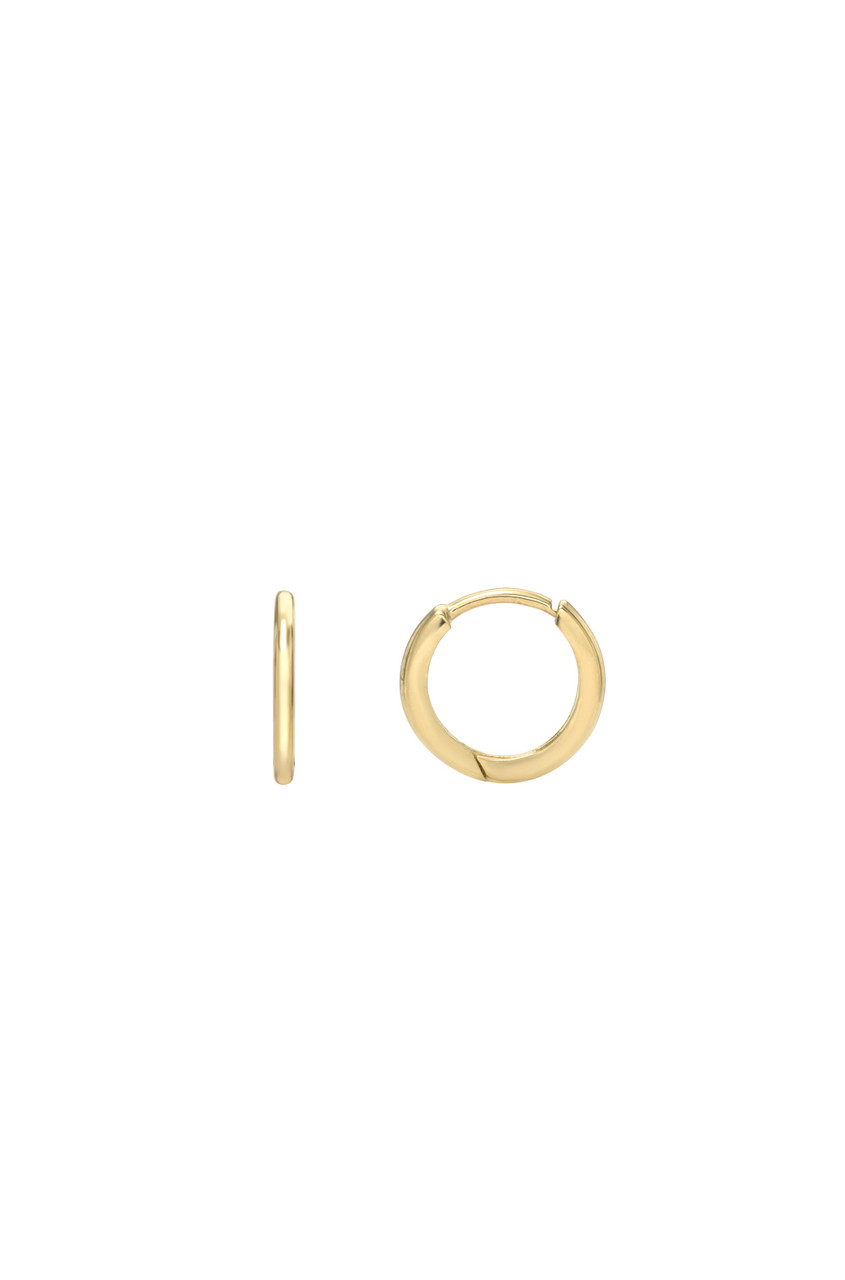 14k Gold Mini Huggie Earrings