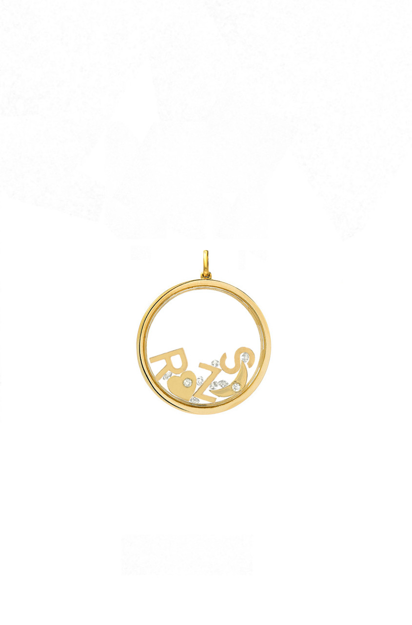 14k gold small locket