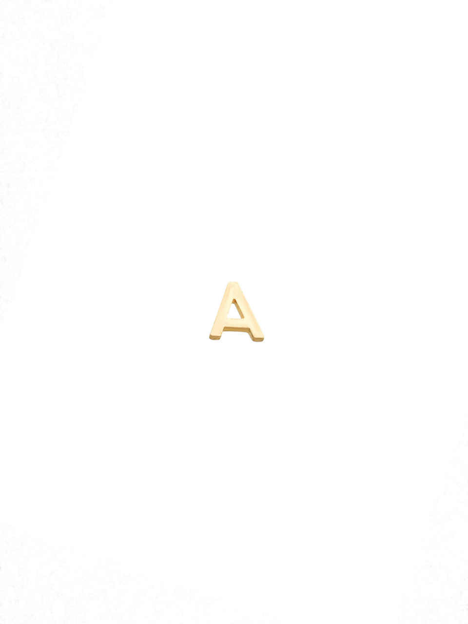 14k Gold Initial for Locket