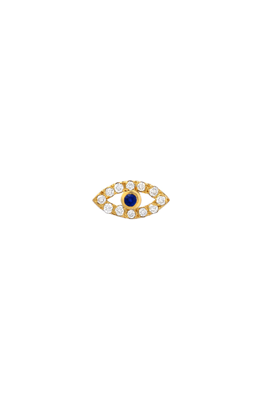 Diamond Evil Eye for Locket