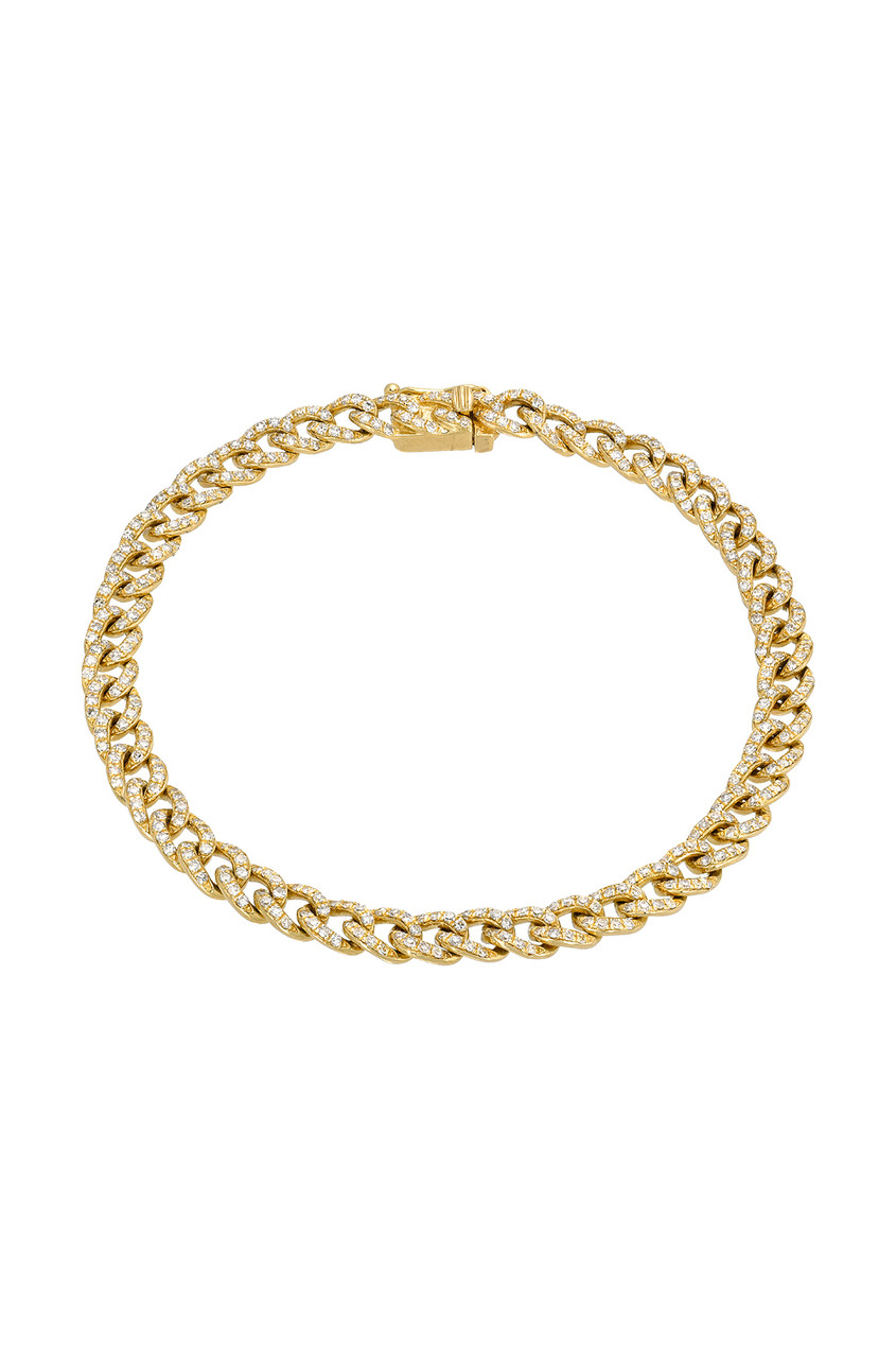 Diamond Cuban Link Bracelet
