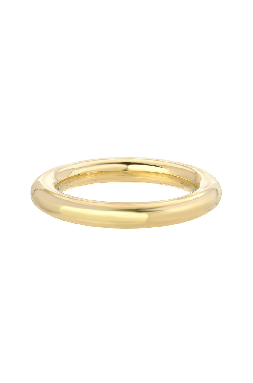 14k Large gold band