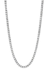 4 Prong Diamond Tennis Necklace