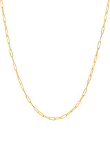 14k Gold Open Link Chain Necklace. - Out of Stock