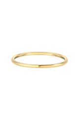 14k Gold Thin band
