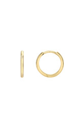 14k. Gold Medium Huggie Earrings