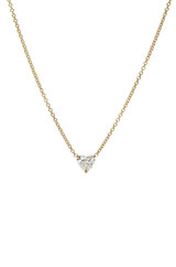 Heart Cut Diamond Necklace