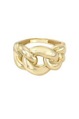 14k Gold Extra Large Miami Cuban Link Ring
